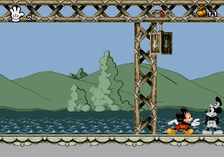 Mickey Mania - The Timeless Adventures of Mickey Mouse - Level 1 - Look! It